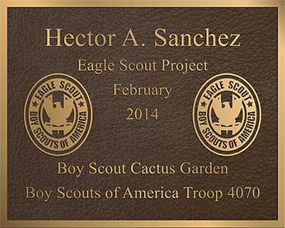 bronze garden plaque, Bronze plaque, custom Bronze prayer plaque