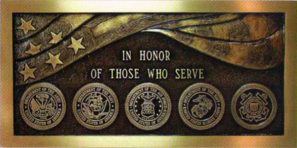 memorial Plaque, bronze memorial outside plaques, outside memorial plaques