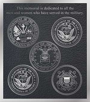 military bronze plaques, custom bronze military plaque