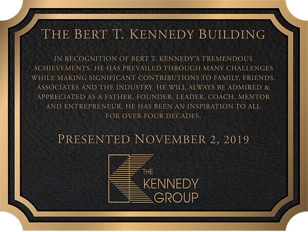 building plaques, bronze building plaque, outdoor building plaque