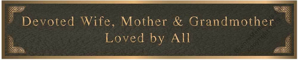 memorial plaque, mother memorial plaques, photo memorial plaque
