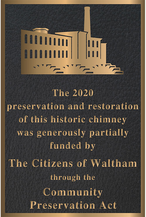 Building Plaque, Bridge Plaques, Outdoor Building Plaques, Bronze Bridge Plaques