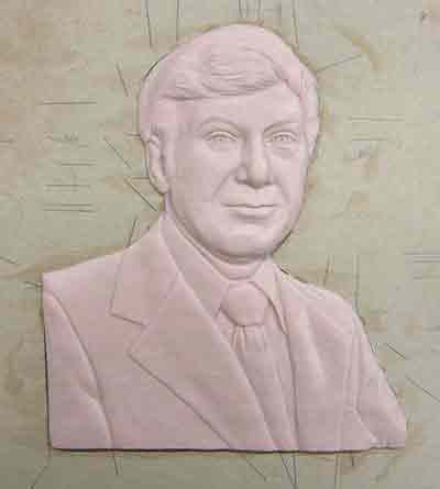 3d relief plaque, bas relief,