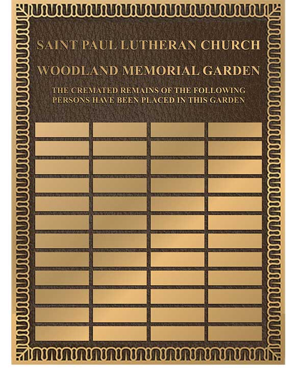 Bronze Donor Plaque, Add On Plaques, Donation Plaques Add-on plaque