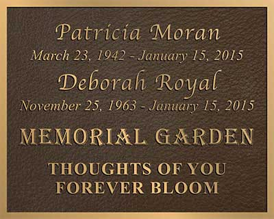 bronze plaque, bronze custom shape border, 3d bronze photo plaque, bas relief miller plaque