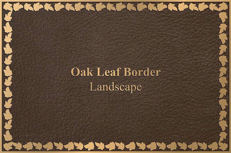 ivy leaf custom border