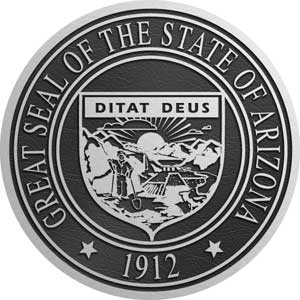 state seal arizona, arizona state seal