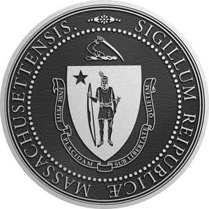 massachusetts Aluminum State Seal, massachusetts aluminum plaque