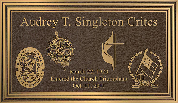 church plaque, bronze plaque religious, church plaques
